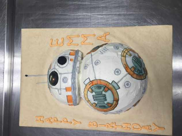 BB-8 Rolled out to a young member of the Rebellion