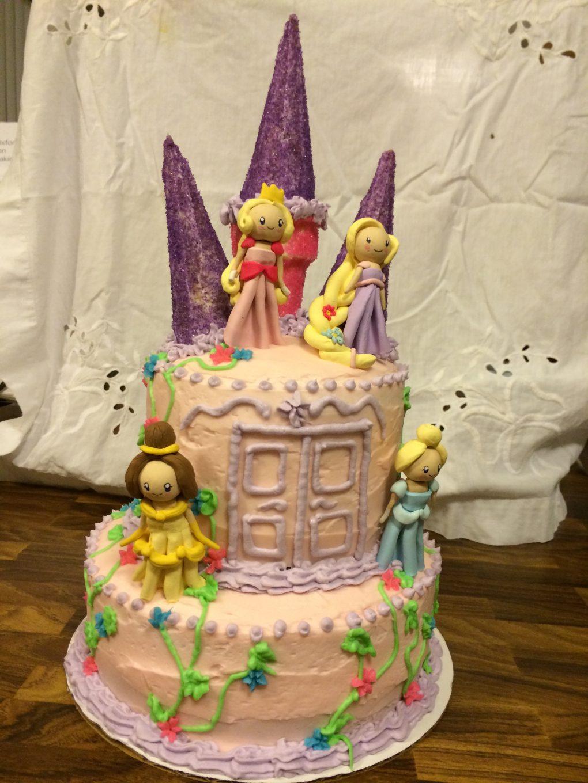 Dollhouse Design Cake : Cake Design - Doll House Baked Goods