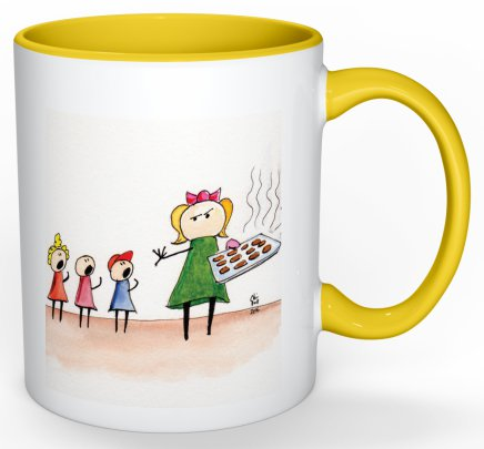 Kids Coffee Mug Yellow